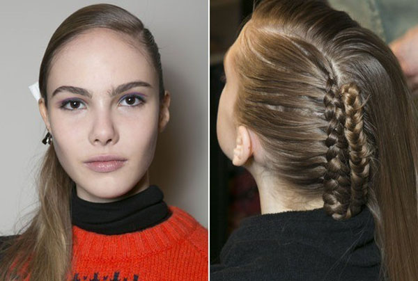 Alexandre Herchecovitch NYFW 2013 hair - braids