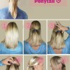 Hairstyle Tutorial - Topsy Turvy Ponytail How to