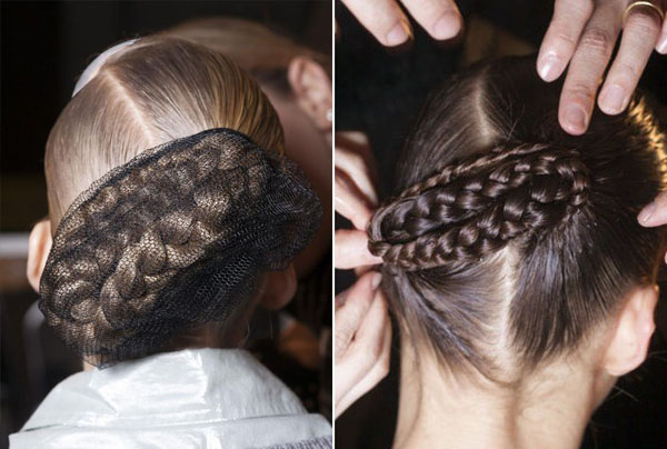 Jen Kao NYFW 2013 hair - braids updo