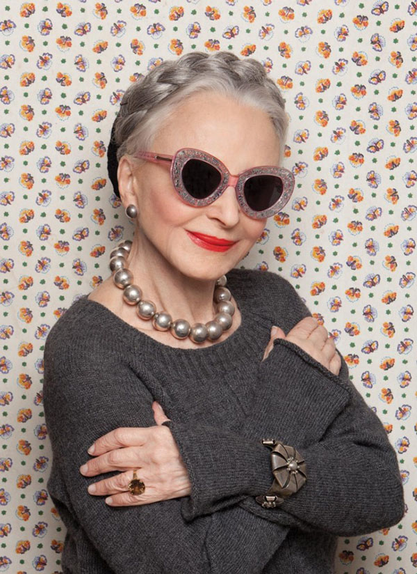 Karen Walker X Advanced Style 1