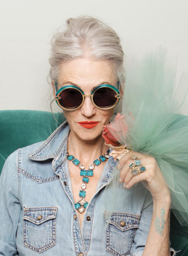 Karen Walker X Advanced Style 5