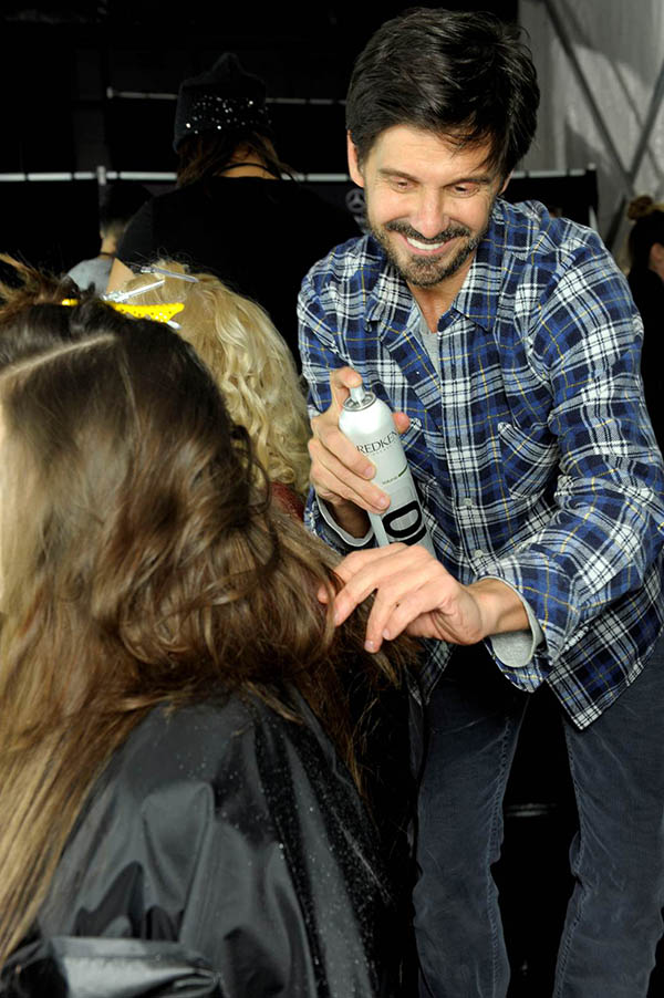 MARC_BY_MARC_JACOBS_guido_backstage_NYFW_AW13_Guido_Palau_Redken