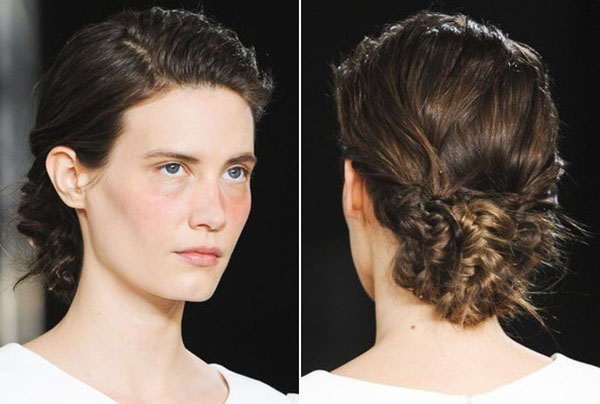 Philosophy di Alberta Ferretti NYFW 2013 hair - braids