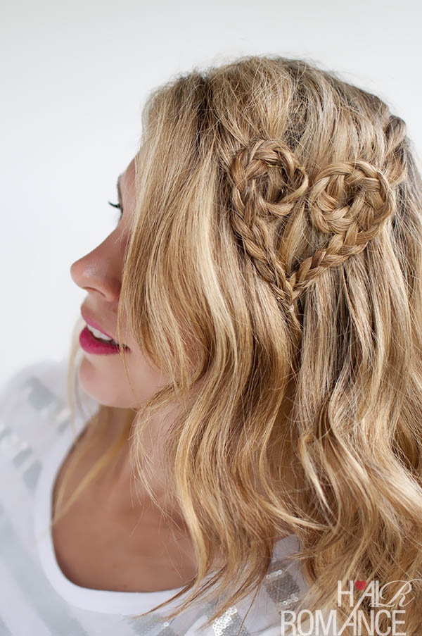 Valentine's Hair - Heart Braid by Hair Romance