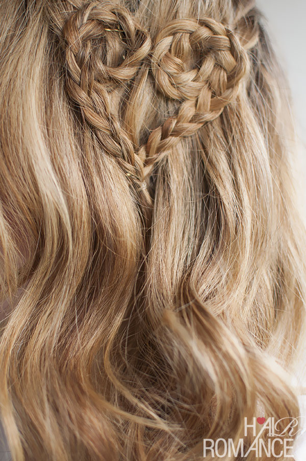 Valentine's Hair - Heart Braid from Hair Romance
