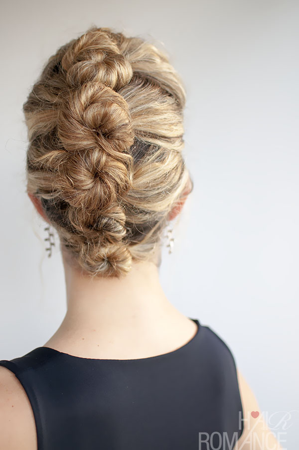 Hair Romance - Curly hair and the French Twist and Pin