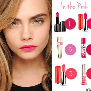 Hair Romance - In the pink and my fave pink lipsticks