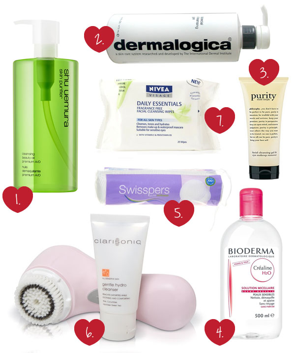 Hair Romance - favorite cleansers and makeup removers
