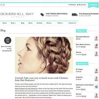 Hair Romance on Bombshell Bay