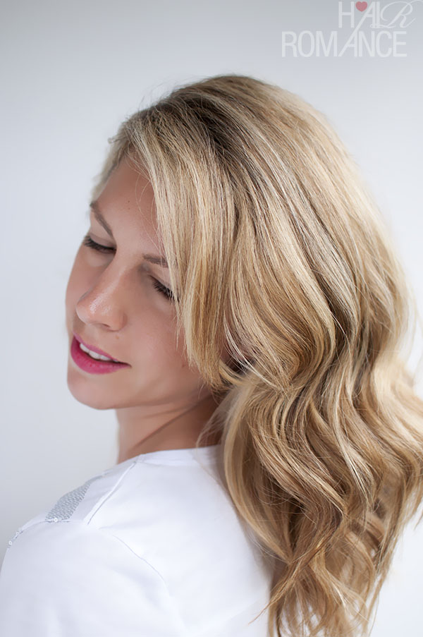 How To Curl Your Hair To Create Soft Loose Waves Using