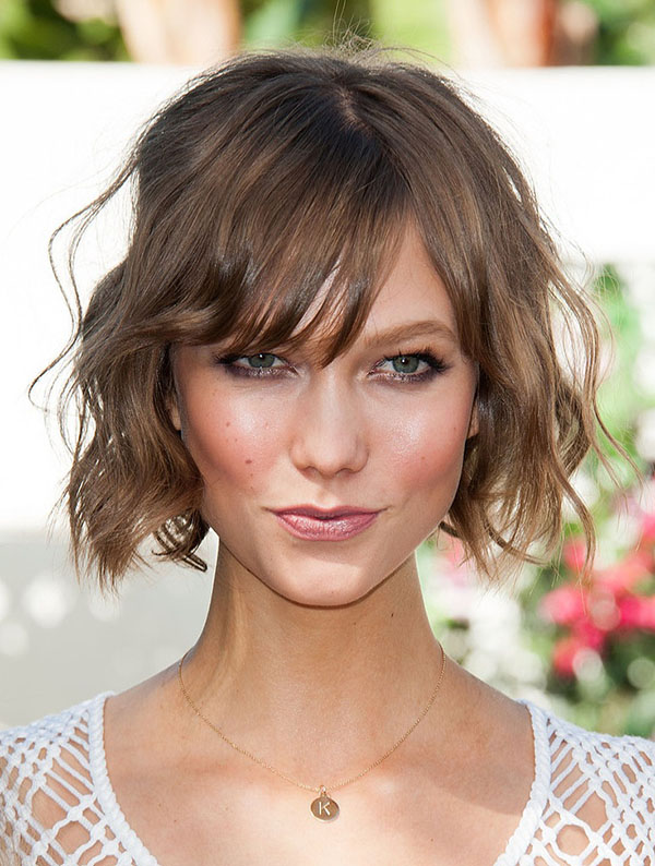 bob haircuts are a key trend for short hair in 2013 and curling short