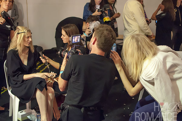 Australian Fashion Week - Hair Romance behind the scenes Day 2 - 11