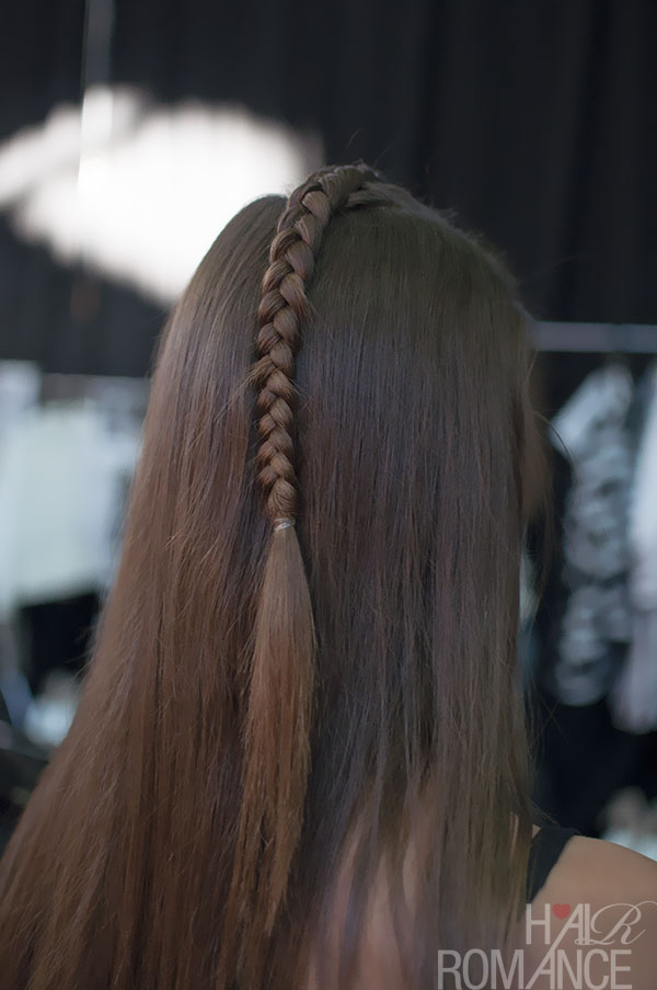 Australian Fashion Week - Hair Romance behind the scenes Day 2 - 18