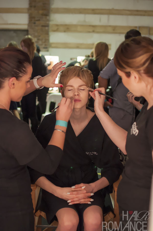 Australian Fashion Week - Hair Romance behind the scenes Day 2 - 7