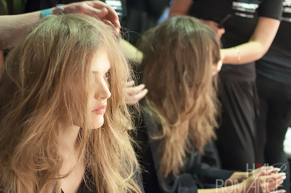 Australian Fashion Week - Hair Romance behind the scenes Day 2 - 8