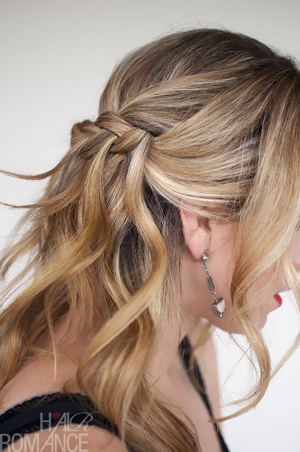 Hair Romance - Waterfall Plait - braid hairstyle
