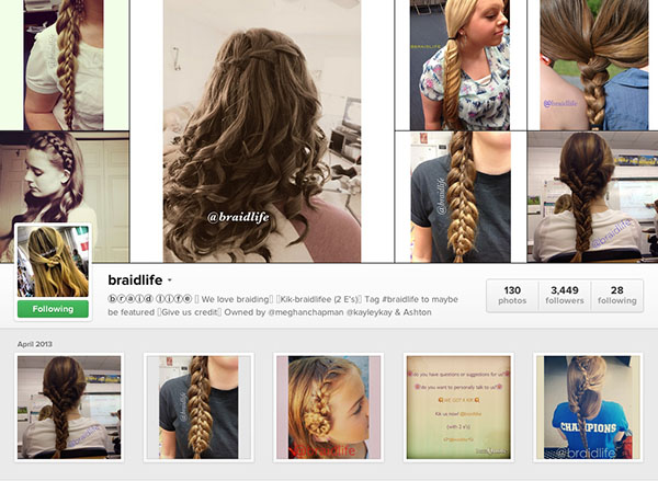 Instagram accounts to follow - braidlife