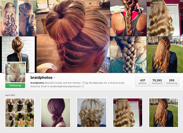Instagram accounts to follow - braidphotos