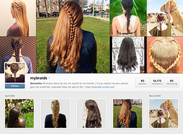 Instagram accounts to follow - mybraids