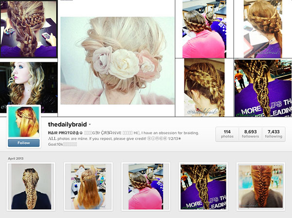 Instagram accounts to follow - thedailybraid