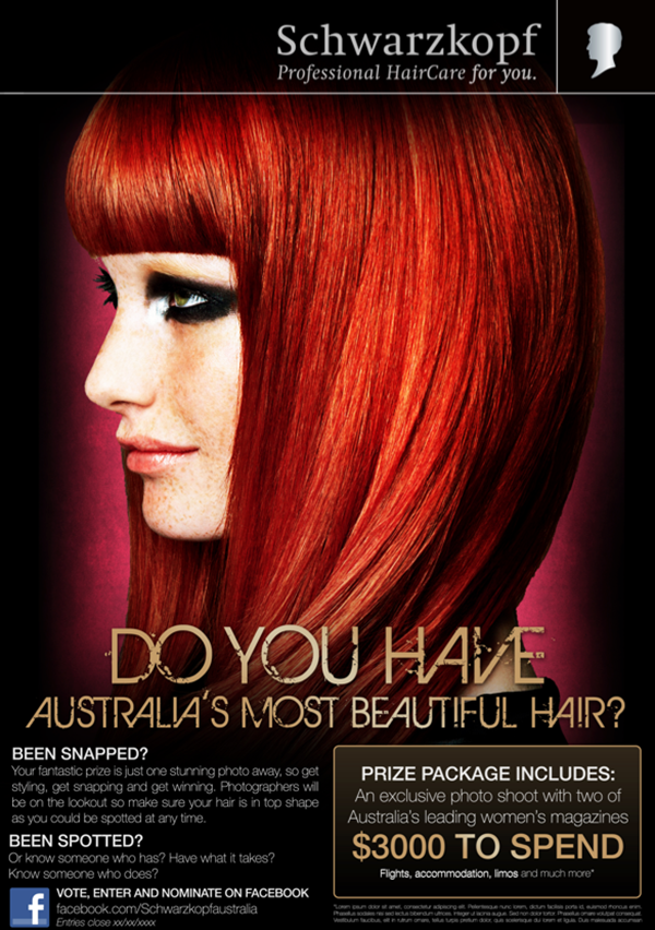 Schwarzkopf Australia's Most Beautiful Hair Competition 2013