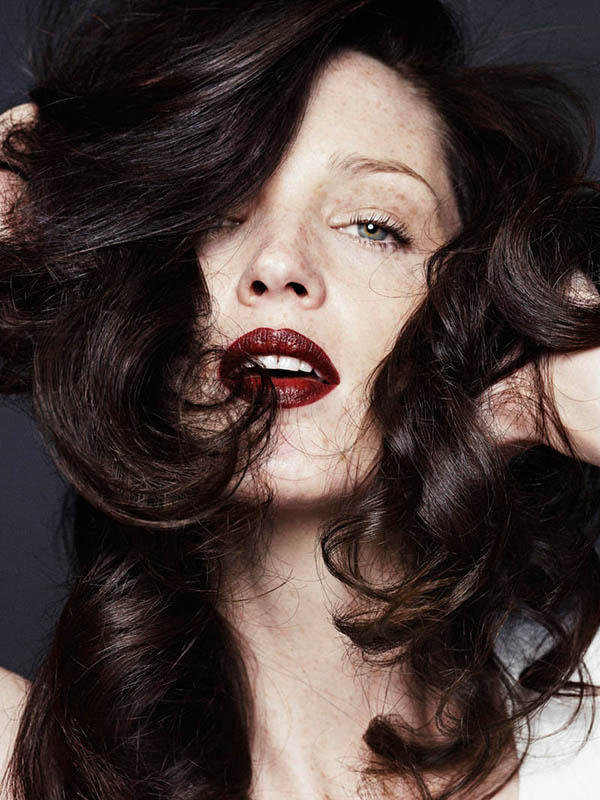Hair Romance - Big Hair Friday - Carla Crombie shot by Vladimir Marti