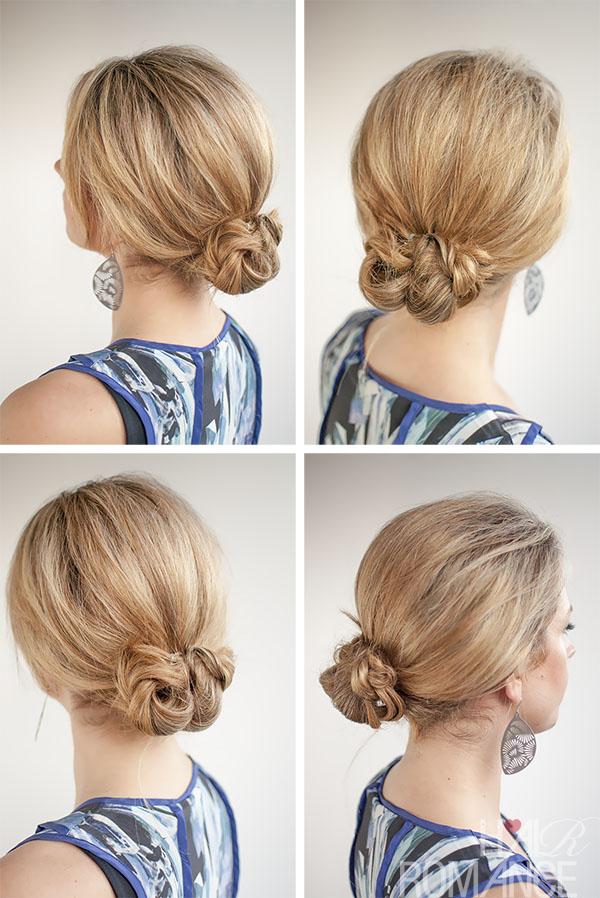 Hair Romance - 30 Buns in 30 Days - Day 13 - Braided Bun Hairstyle