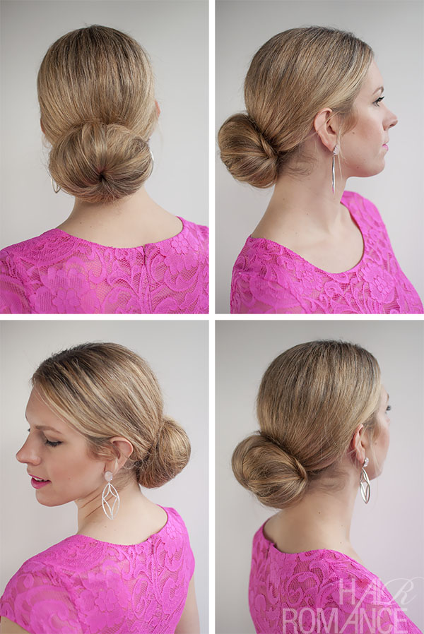 2013 Black High Loose Bun Updo For Women Long Hairstyles LONG HAIRSTYLES