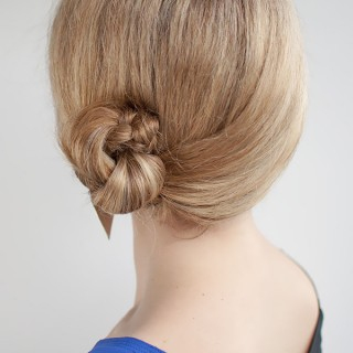 Hair Romance - 30 Buns in 30 Days - Day 9 - Side Braid Bun Hairstyle