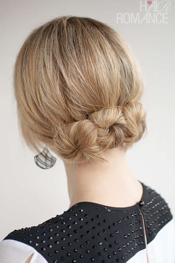 Beautiful Easy Steps To Do A Twisted Bun Hairstyle