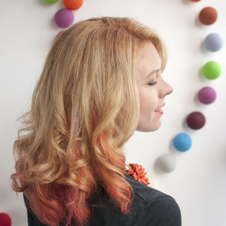 Hair Romance - Big Hair - new hair colour Stevie English June 2013