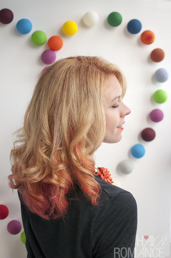 Hair Romance - Big Hair - new hair colour Stevie English June 2013