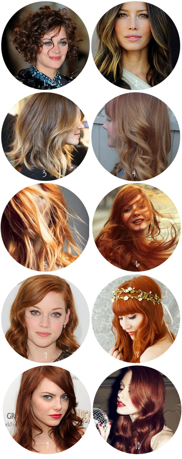 What hair colour do I choose