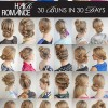 Hair Romance 30 Buns in 30 Days Hairstyle ebook