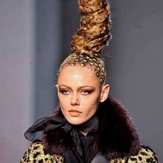 Big Hair at Jean Paul Gaultier Paris Couture 2013