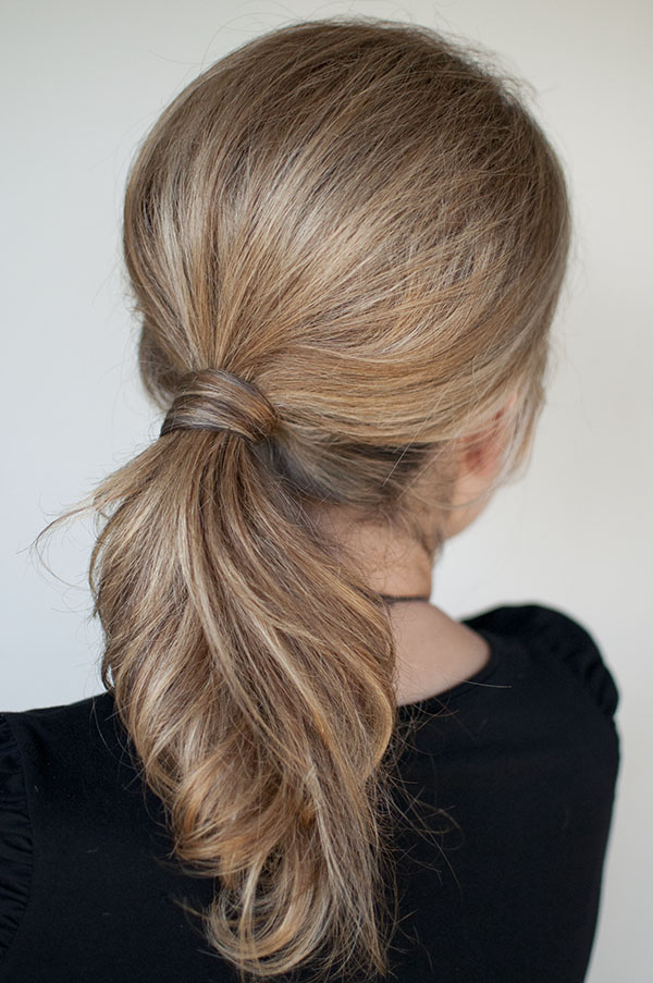 Hair Romance - NYC 1 minute ponytail