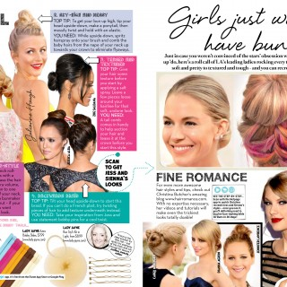 Hair Romance in FAMOUS magazine