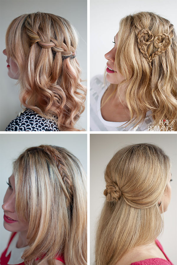 Hair Romance - good hair 4 ways