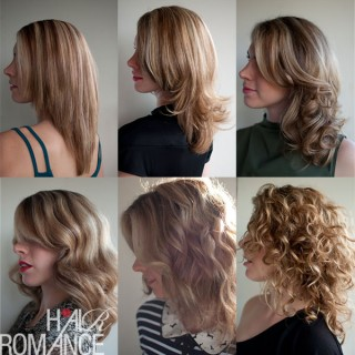 Hair Romance - good hair 6 ways