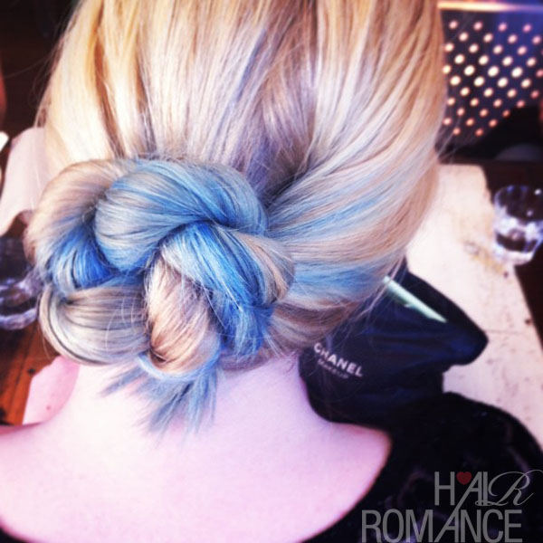 Hair Romance - ropw twist braid bun
