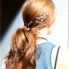 NYFW ponytail hair trends - Honor 1