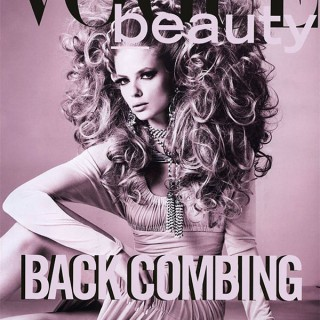 Big Hair Friday - Julia Stegner - Richard Burbridge - Vogue Italia