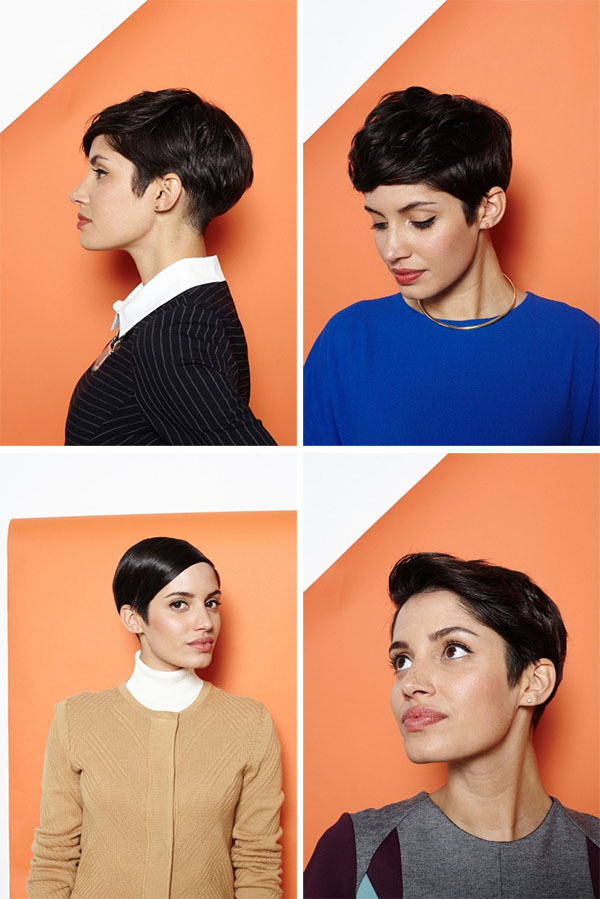 Hair Romance - 1 pixie cut 4 ways