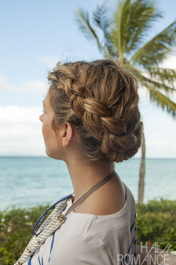Hair Romance - Dutch Braid Updo hairstyle