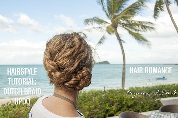 Hair Romance - Dutch Braid updo tutorial video
