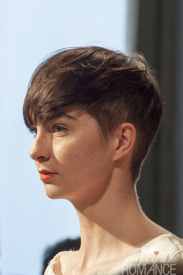 Hair Romance - Short hair inspiration from Milan Fashion Week