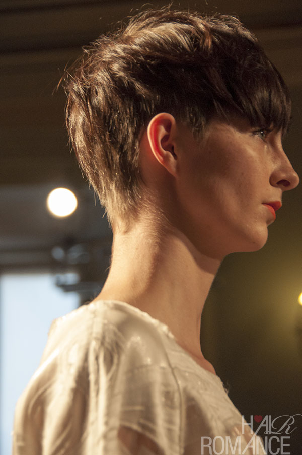 Hair Romance - Short haircut inspiration from Milan Fashion Week
