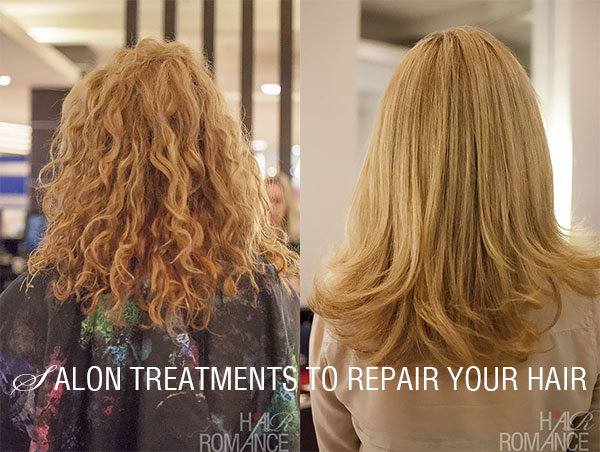 Hair Treatment For Damaged Hair ~ Best salon treatments to fix your dry damaged hair