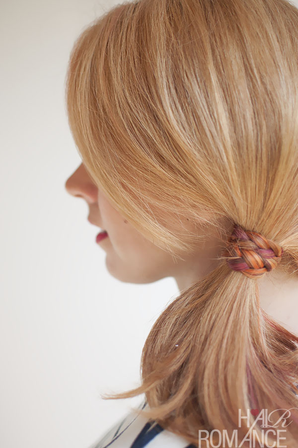 Hair Romance - Side braid wrap ponytail