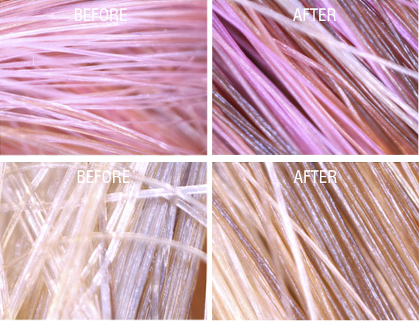 Hair Romance - bhave treatment before and after photos